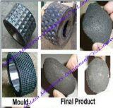 Enladrillado de la briqueta del polvo de Charocal del carbón que hace la prensa de planchar