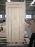 Porte en bois en bois solide de placage (porte en bois solide)