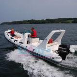 Liya 22ft bateau gonflable bon marché militaire de la nervure de la Chine les fabricants