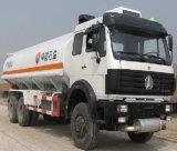Tankwagen 20cbm van de Brandstof van de Tankwagen van de Brandstof van Beiben Bijtankende
