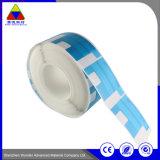 Sensibles al calor personalizada impresión de etiquetas de seguridad de papel adhesivo