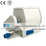 Solo mezclador de paleta del eje adecuado para la fábrica del fertilizante