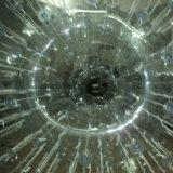 Bal Zorb van de Bal van het Vermaak van het Water van pvc de Interessante Transparante Opblaasbare