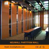 Paredes móveis acústico de alumínio para a sala de conferência, Banquent Hall and Hotel