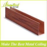 Diseño falso de madera del techo del metal de la alta calidad