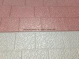 Chaîne de production gravée en relief métallique de panneaux de mur