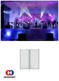 영상 벽 투명한 LED 스크린을%s 유행하는 RGB 풀 컬러