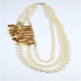 Neue Feld-Form-Schicht-Perlen-Schmucksache-Halsketten
