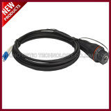 Conector à prova d'água IP68 FULLAXS para LC Duplex Single mode OS2 Fiber Optic Outdoor Cable