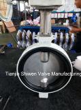 De Vleugelklep van het Type van Wafeltje van het Aluminium van Dn250 JIS 10K Met Toestel