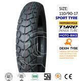 O sul de América fora da estrada cansa o pneu 110/90-18 da motocicleta do pneumático da motocicleta do velomotor das peças da motocicleta