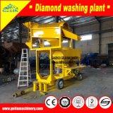 Completare la pianta di lavaggio del diamante mobile chiave dell'oro di girata