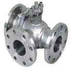 Válvula esférica Multiport de aço inoxidável ASME Stainless Steel