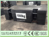 1000kg M1 Standardkran-Gewichte der Kategorien-OIML für die Prüfung der Maschine