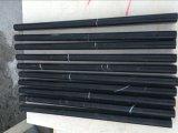 Mattonelle della fodera della matita del marmo 13X20X305mm di Nero Marquina
