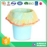 Saco de lixo plástico do Drawstring de Diaposable da venda quente