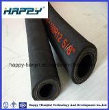 Tuyau hydraulique fortement flexible avec le fil d'acier 4 en spirale