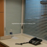 Stores blindés à commande magnétique entre verre isolé pour la partition Office