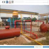 Pirólise 5ton Waste a favor do meio ambiente à planta da refinação de petróleo