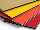 Samenstelling paneel-Aludong-8810 van het Aluminium van de Baar van het Teken van het Hotel Gouden