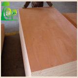 4 ' *8' 12/15/18 milímetro del álamo de la base de Keruing de madera contrachapada de madera de la chapa con el pegamento E0/E1 para los muebles/la decoración