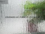 La pluie s Modèle de boîtier de douche en verre clair