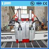 China-gutes Zeichen 4X8 FT Dh1325r 2 schießt 2 Köpfe CNC-Fräser in die Höhe
