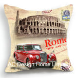 Оформление Площади Старого Автомобильный дизайн ткань подушка с заполнением