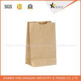 L'environnement Customed en usine de recyclage de sac de papier Kraft avec poignée