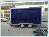 現代アイスクリームのケイタリングのトラックの国際規格のホットドッグのトレーラー