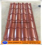Mattonelle di tetto ondulate verniciate colore