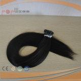 100% 최신 판매 작풍은 사람의 모발 Prebonded 머리 연장을 나 기울인다