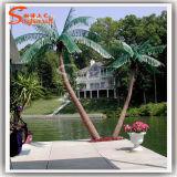 Вал завода искусственной пальмы украшения сада декоративный