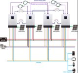 MPPT Solar Controler Build InsideのGrid Hybrid Solar Inverterを離れた1kw/2kw/3kw/4kw/5kw