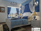 Guardaroba di legno degli armadi dell'Europa della camera da letto della mobilia domestica moderna dell'hotel