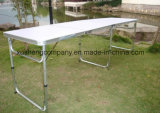La qualité Table pliante Portable Camping Table en aluminium
