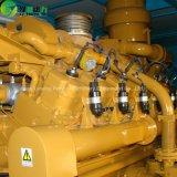 発電所の天燃ガスの発電機のスタンバイ