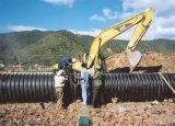 Grosse Fluss-Qualitäts-gewölbtes Rohr für Tiefbauabwasserkanal