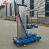 Portable Lifter personnel Échelle en aluminium Man Lift Aluminium Hydraulic Home Lift