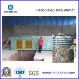 Prensa hidráulica de papel usado con funcionamiento automático