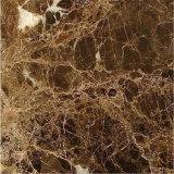 中国の安い価格のEmperadorの暗い大理石、大理石のタイル、大理石のフロアーリングのボーダーデザイン
