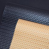 Korbgeflecht-Muster-Beutel-Leder, Rattan flocht künstliches PU-Leder