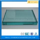 CCC/En12150/SGCC/Bsi/Csi Vlakke boog het Certificaat/8mm ontruimt Aangemaakte Glasfabriek
