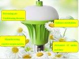 Luz negativa do bulbo E27 da purificação do ar do íon da patente da fábrica