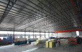 Edificio de estructura de acero prefabricada pintada