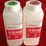 Cola de resina epóxi clara para clavos de unha