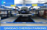 1 sistema automático subterrâneo do estacionamento do carro do enigma de Overground 2-Floor