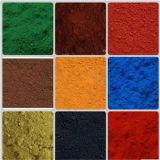 preço de fábrica direto de pó de cor de óxido de ferro vermelho/amarelo/marrom/preto