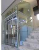 Home ascensor con puerta de vidrio