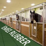 De paarden RubberMatten van de Drainage voor Paarden